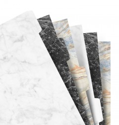 Filofax Notebooks - Intercalaires Marble - A5