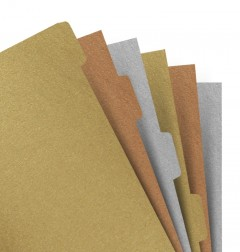 Filofax Notebooks - Intercalaires Metallics - A5