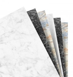 Feuilles de notes unies - Assortimment Marble - A5