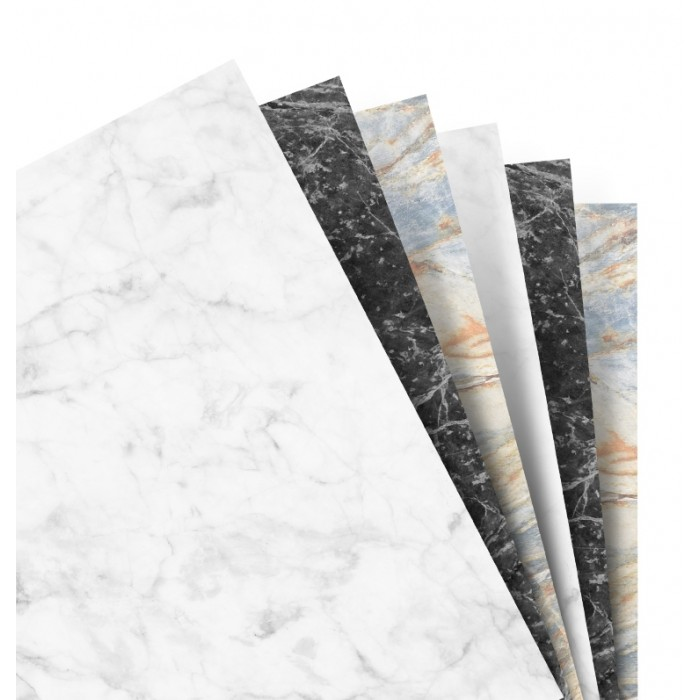 Filofax Notebooks - Feuilles de notes unies - Assortiment Marble - A5